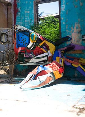 Vakantie Aruba 2020: street art