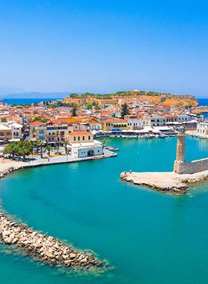 Mooiste vakantiebestemmingen Griekenland: Rethymnon, Rhodos