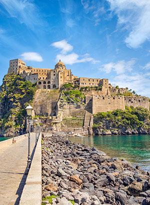 Alles over Ischia, kasteel