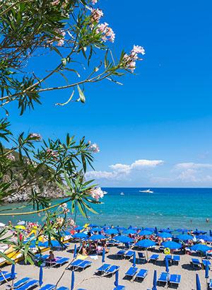 Alles over Ischia, strand