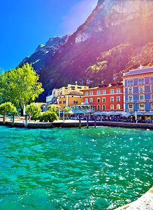 Leukste badplaatsen Gardameer: Riva del Garda