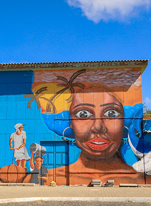 Doen op Sal - street art