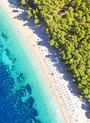Populaire eilanden Kroatië, Brac