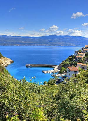 Populair eilanden Kroatië, Krk