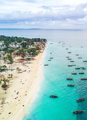 Mooiste stranden Zanzibar: Nungwi Beach