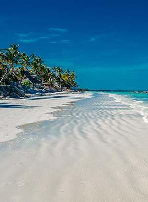 Mooiste stranden Zanzibar: oosten