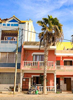 No stress, Sal, Santa Maria, Kaapverdië