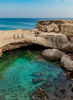 Vakantie Otranto, Puglia: omgeving