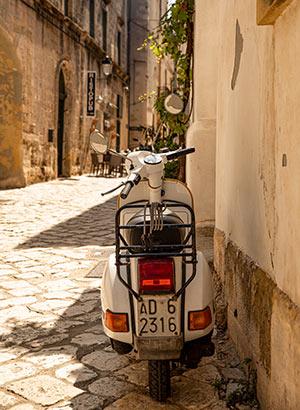 Vakantie Otranto, Puglia: straatbeeld