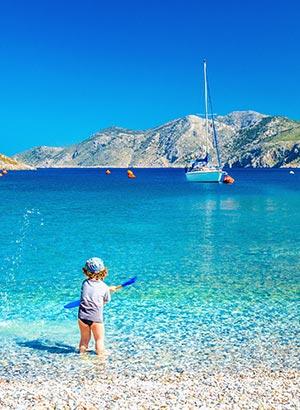 Familievakantie Europa; Corfu