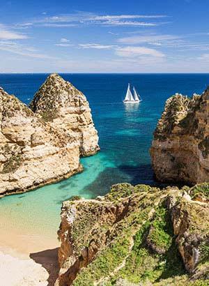 Praia de Benagil, Algarve (Portugal)