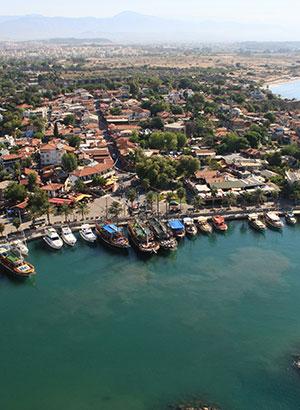 Leuke weetjes Side (Turkije): stadsdelen