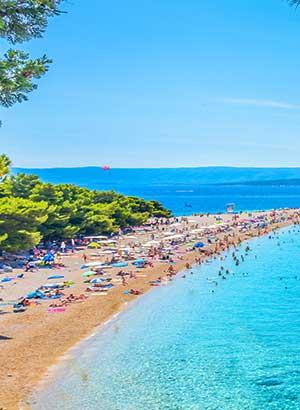 Zlatni Rat, mooiste strand van Kroatië