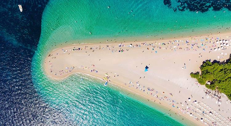 Zlatni Rat, het mooiste strand van Kroatië