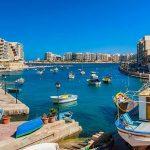 Badplaatsen Malta