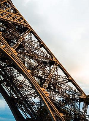 Eiffeltoren Parijs, trappen