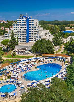 Familiehotels Kroatië, Valamar Diamant Aparthotel