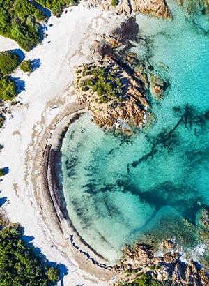 Mooiste stranden Sardinië: Spiaggia del Principe