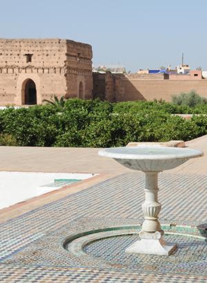 Reisgids Marrakech - El Badipaleis