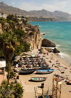 Vakantiebestemmingen Spanje, Nerja