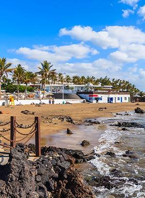 Vakantiebestemmingen Spanje, Puerto del Carmen (Lanzarote)