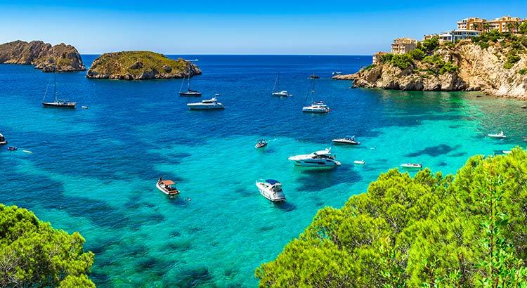 Vakantiebestemmingen Spanje
