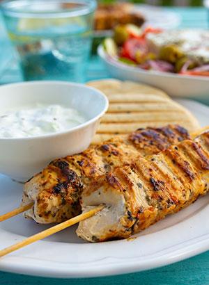 Griekse keuken - souvlaki