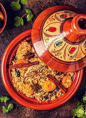 Marokkaanse keuken - tajine