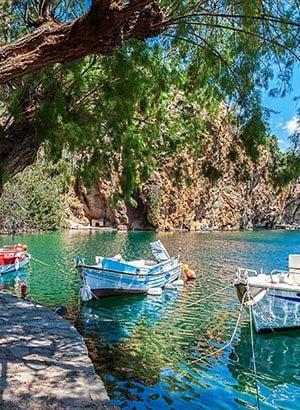 Badplaatsen Kreta, waar verblijven: Agios Nikolaos
