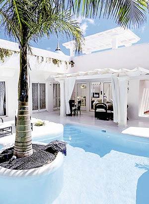 Hotels met privé zwembad: Spanje