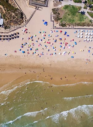 Leukste badplaatsen Algarve: Olhos d'Agua