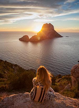 Populaire eilanden Instagram: Ibiza