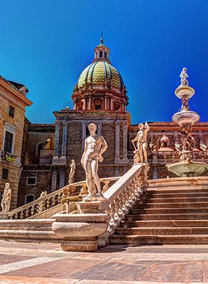 Populaire eilanden Instagram: Palermo