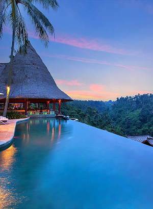 Wegdroomhotels Ubud, Viceroy Bali