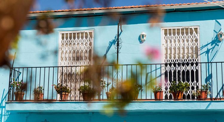 Júzcar, Smurfendorpje Andalusië