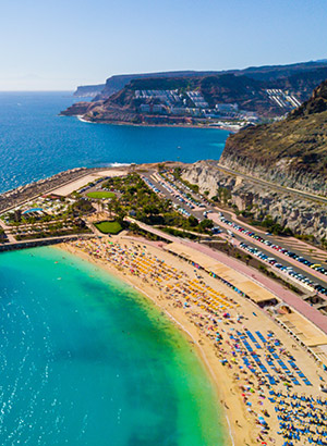 doen op Gran Canaria: Amadores strand