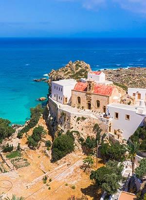 Chrisoskalitissa, nabij Elafonissi Beach, Kreta
