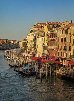 Bezienswaardigheden Venetië: Canal Grande
