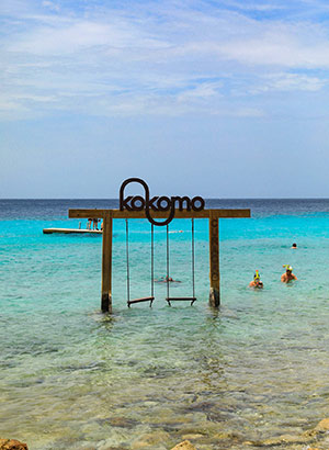 Auto huren Curaçao, strandhoppen