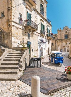 Grotwoningen Matera Italië