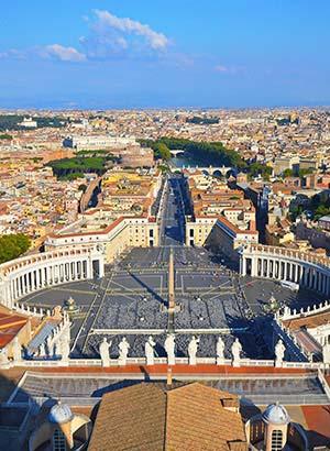 Italiaanse bestemmingen: Rome
