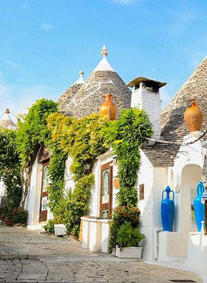 Italiaanse bestemmingen: Alberobello