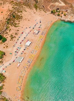 Mooiste stranden Rhodos: Agia Agathi
