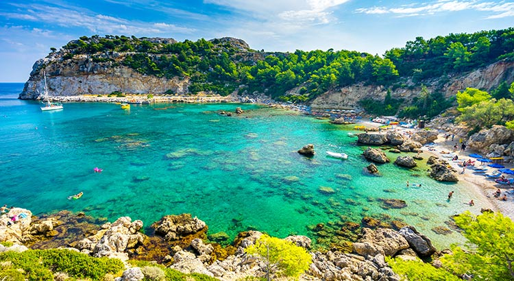 De mooiste stranden op Rhodos? Dit zijn ze!