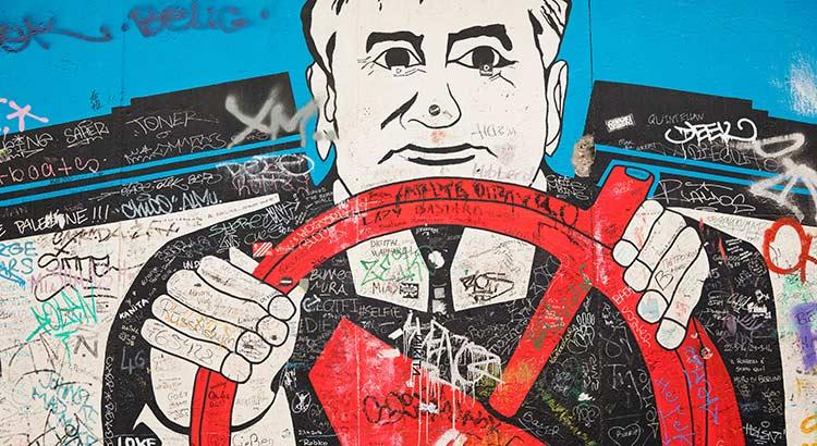 Berlijnse Muur & indrukwekkende graffiti op de East Side Gallery