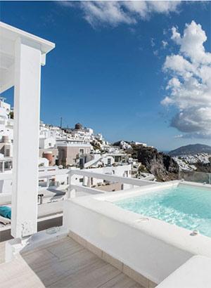 Boutique hotels Santorini: Aqua Luxury Suites