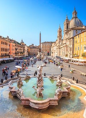 Bezienswaardigheden Rome: Piazza Navona