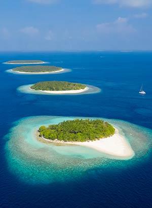 Vakantie Malediven tips: eilanden