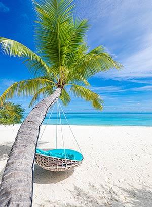 Vakantie Malediven tips: hangmat