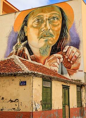 Excursies Tenerife: street art